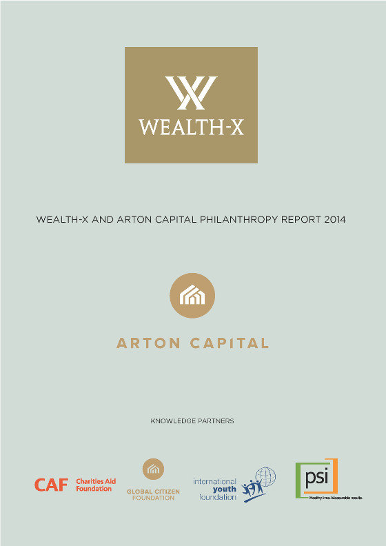 Wealth-X and Arton Capital Philanthropy Report 2014