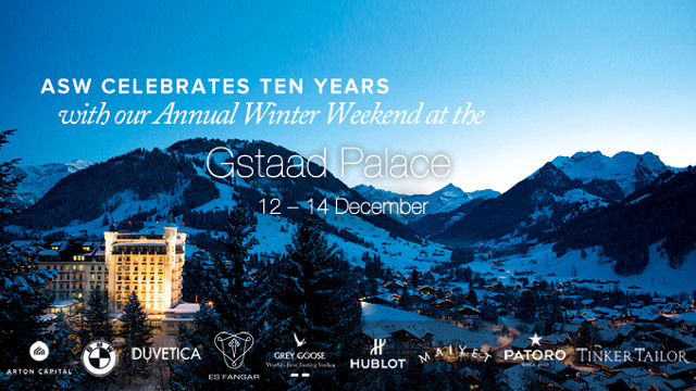 Winter weekend at the Gstaad Palace