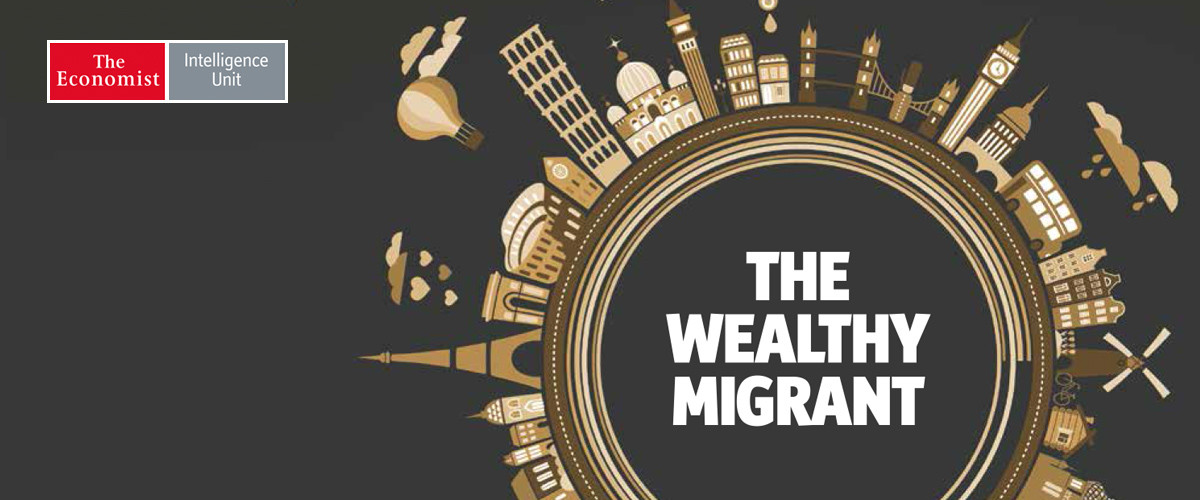 Wealthy migrants, like poorer ones, are in search of a better quality of life, new EIU survey shows