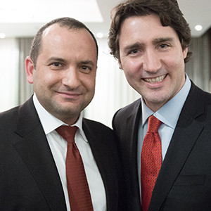 Arton welcomes the newly elected Prime Minister of Canada, Mr. Justin Trudeau
