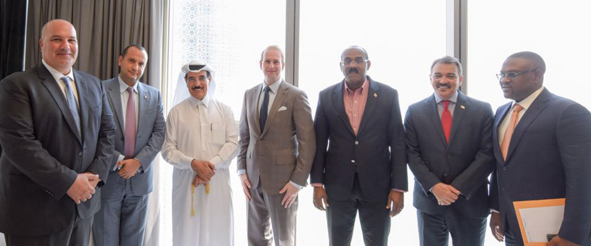 Antigua and Qatar strengthen bilateral relations