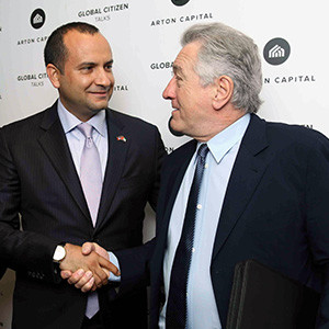 Robert De Niro talks investments in Dubai