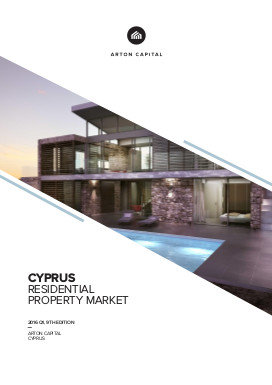 Cyprus Residential Property Market 2016 Q1, 9th Edition