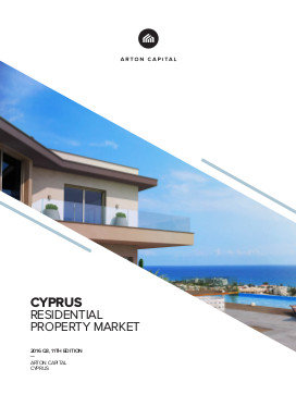 Cyprus Residential Property Market 2016 Q3, 11th Edition