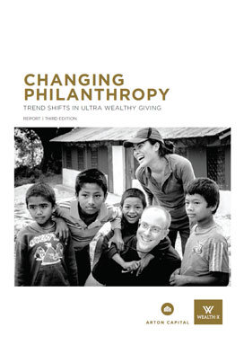 Arton Capital & Wealth-X Philanthropy Report 2016