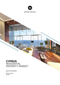 Cyprus Real Estate Report 2017 Q1, 9th Edition