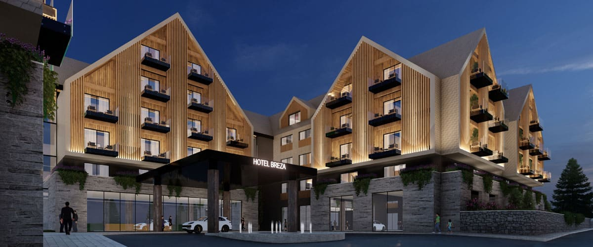 Hotel Breza to Lay Foundations in Kolašin
