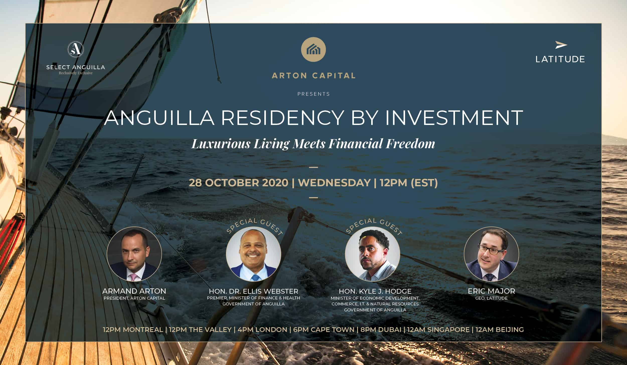 Anguilla Residency by Investment